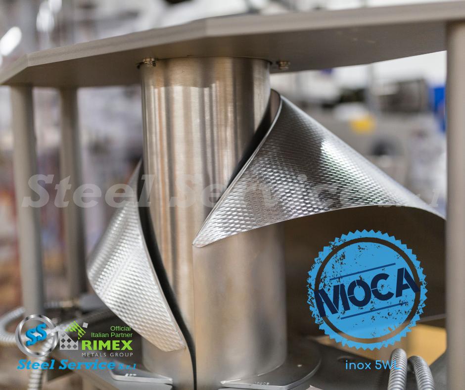 Acciai rigidizzati M.O.C.A: l'avanguardia italiana e gli acciai Rimex Metals