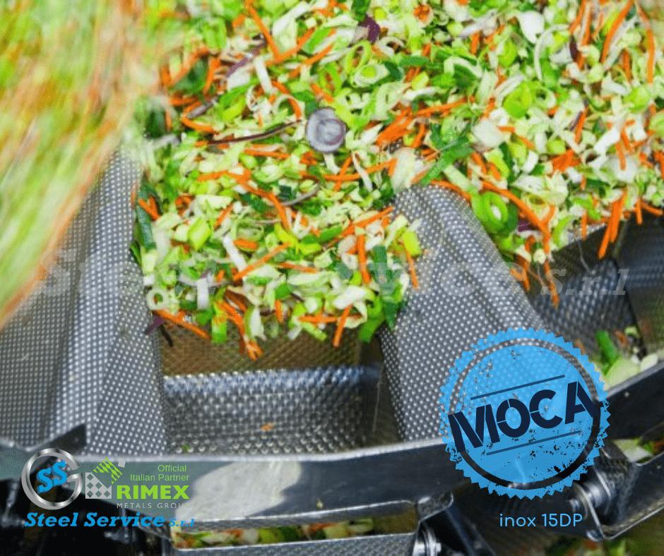 Inox rigidizzato MOCA alimentare